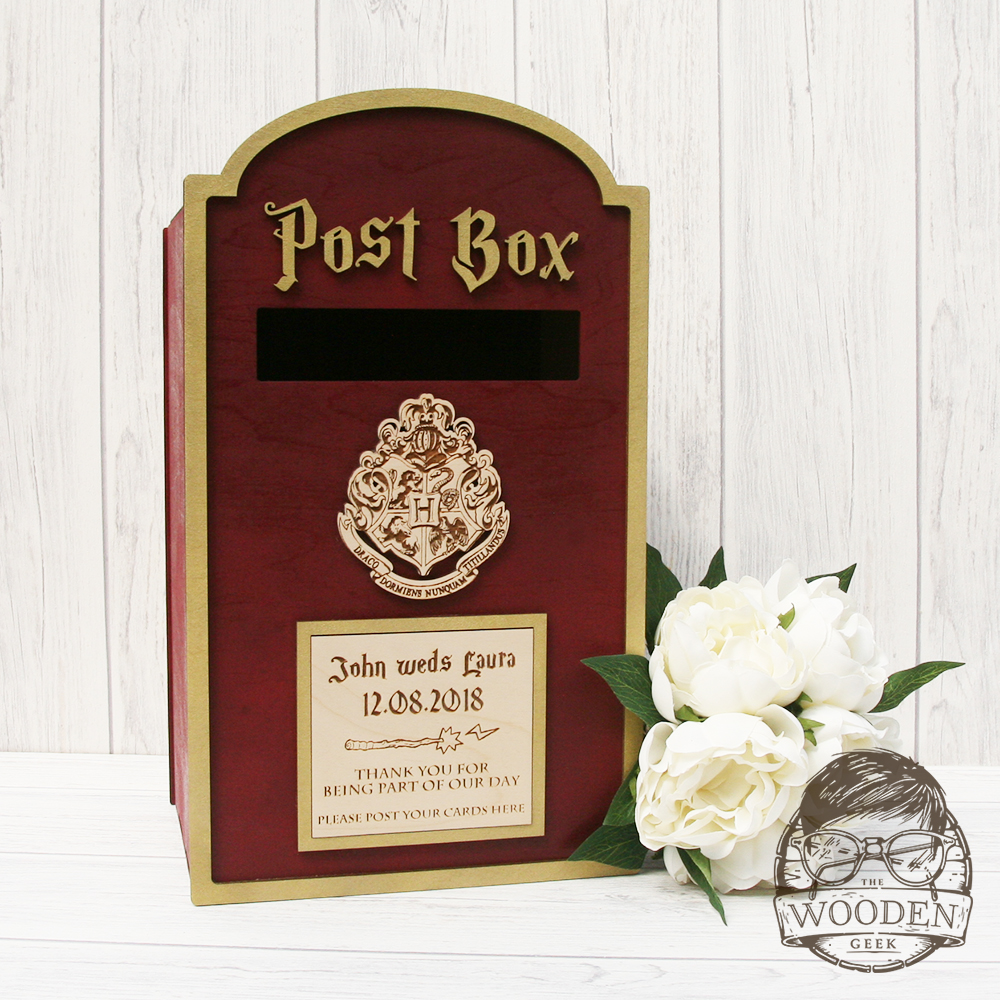 Harry Potter Wedding Post Box – The Wooden Geek